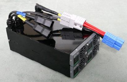 Externer Lader 6,6 kW/External charger.