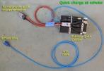 Semi quick charge at schuko socket