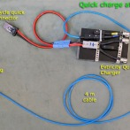 Semi quick charge at schuko socket