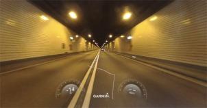 Tunnel under river Elbe (Hamburg)
