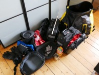 Preparing to pack everything